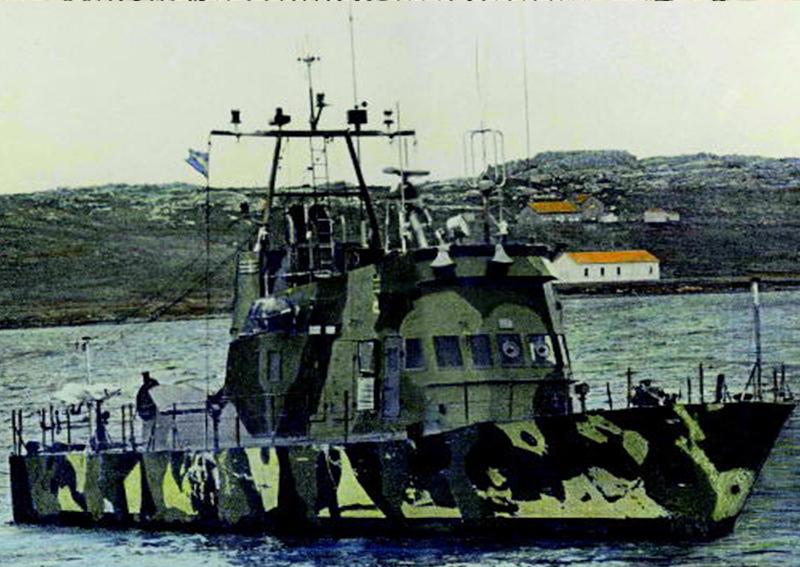 Prefectura Naval Argentina en Malvinas