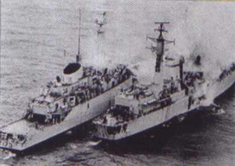 La HMS Sheffield
