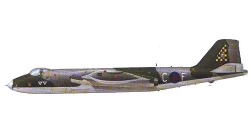 British Aerospace (EECo/BAC) Camberra Mk.9 (vercion reconocimiento)
