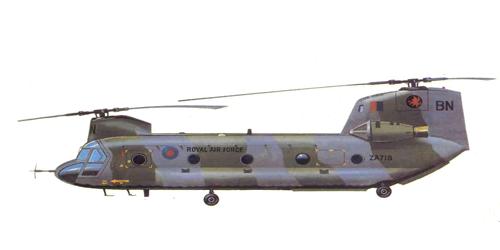 Boeing Vertoi Modelo 114/CH-47C Chinook