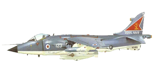 British Aerospace Sea Harrier FRS .Mk 1