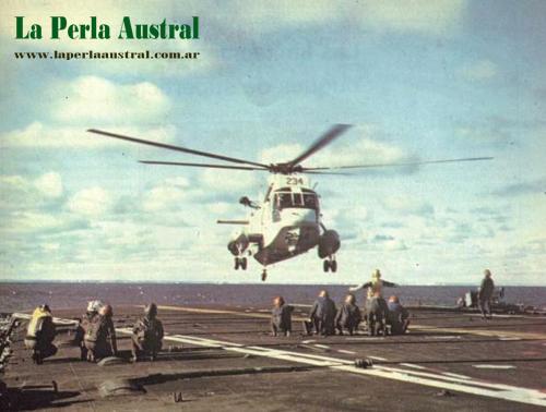 Agusta-Sikorsy S-61D Sea King en la Guerra de Malvinas