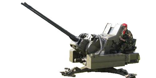 Cañón Antiaéreo Bitubo Rheinmetall 20 mm