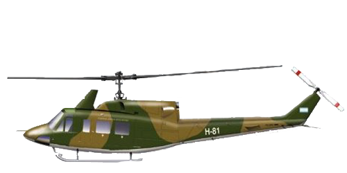Bell Modelo 212 Twin Two-Twelve/UH-1N