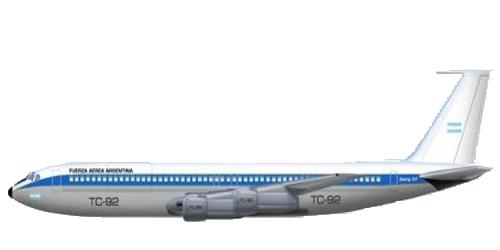 Boeing Modelo 707 cisterna/transporte/C-18