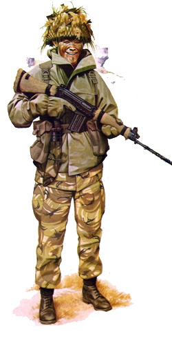 Fusilero Gurkha